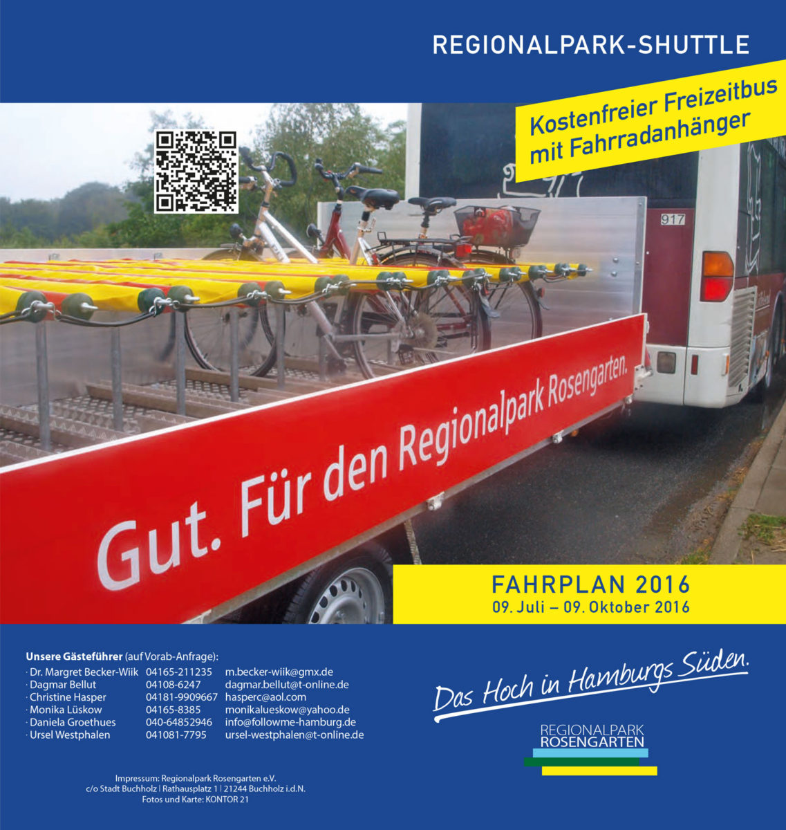 Flyer Regionalpark Shuttle