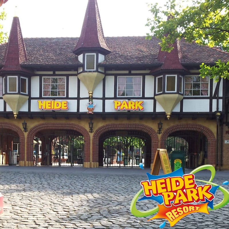 Eingang Heide Park Soltau